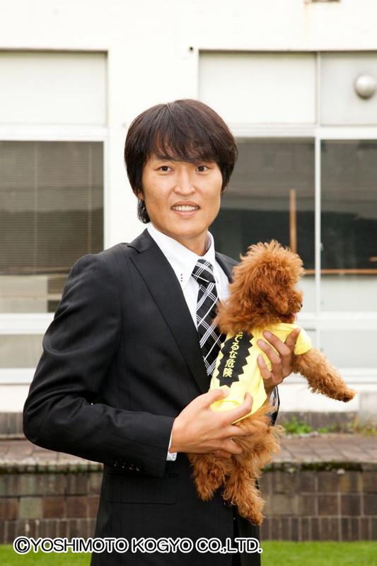 「千原ジュニアのお犬様Tシャツ」