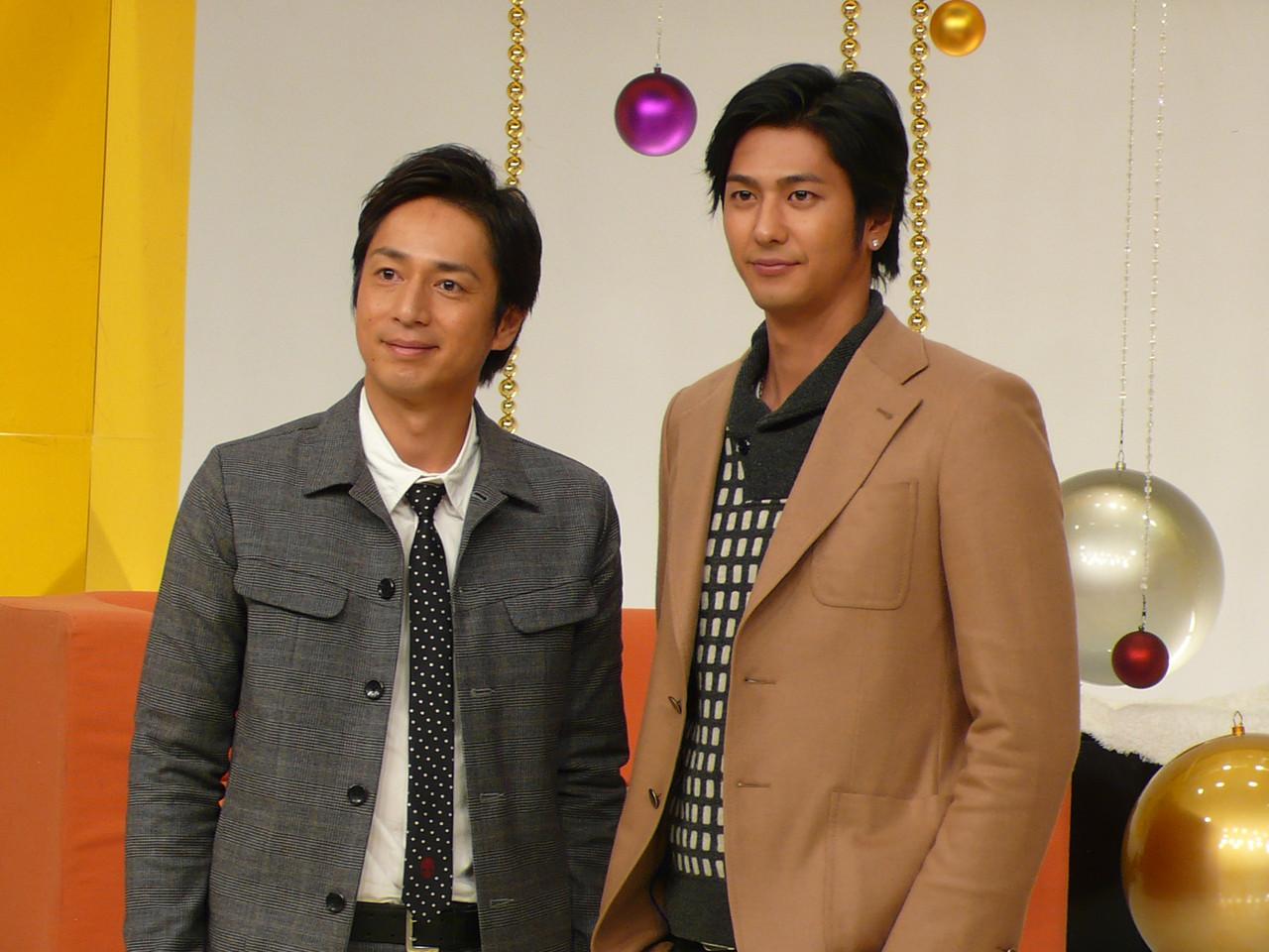 もこみちさんと徳井義実さんです